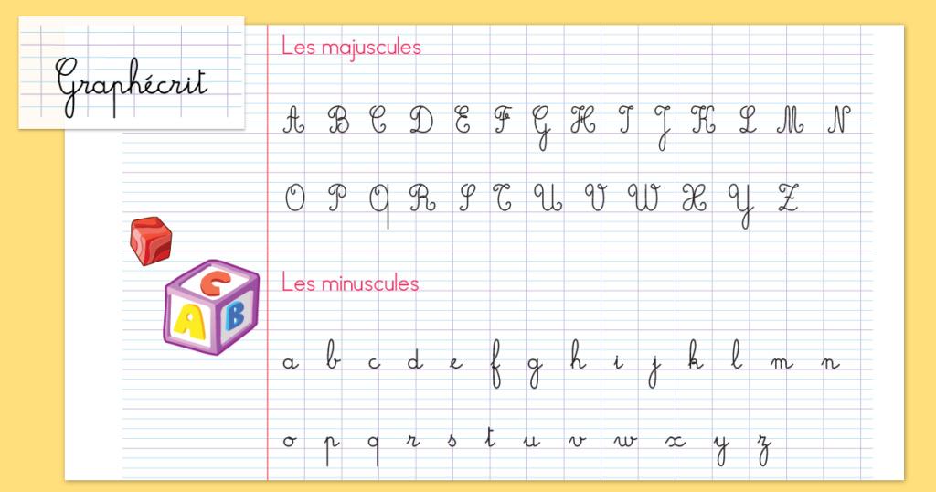 Polices d'écriture cursive Graphe10
