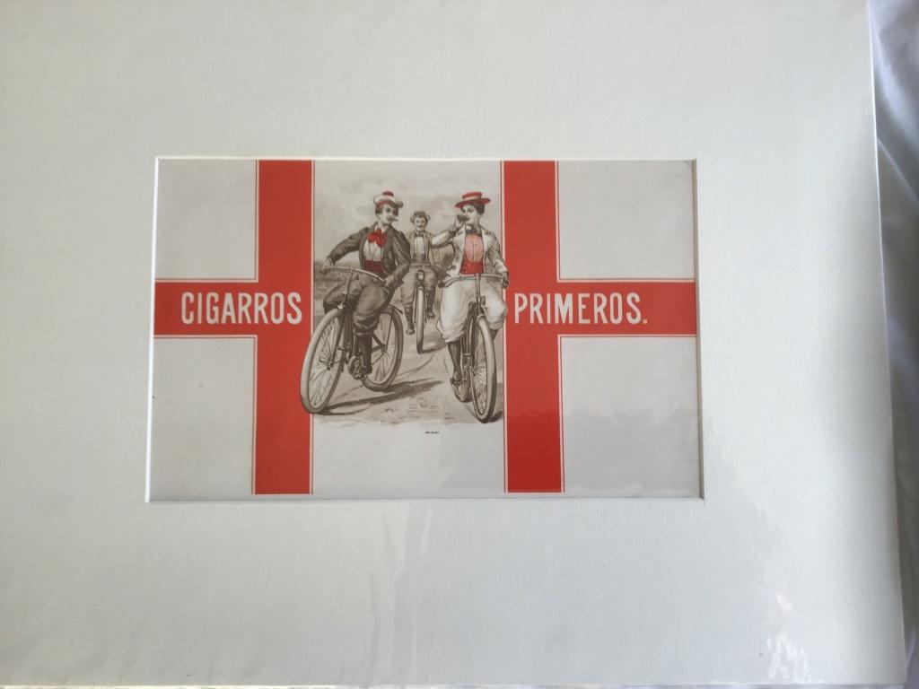 Affiche publicitaire pour les cigares Primeros  Img_0610