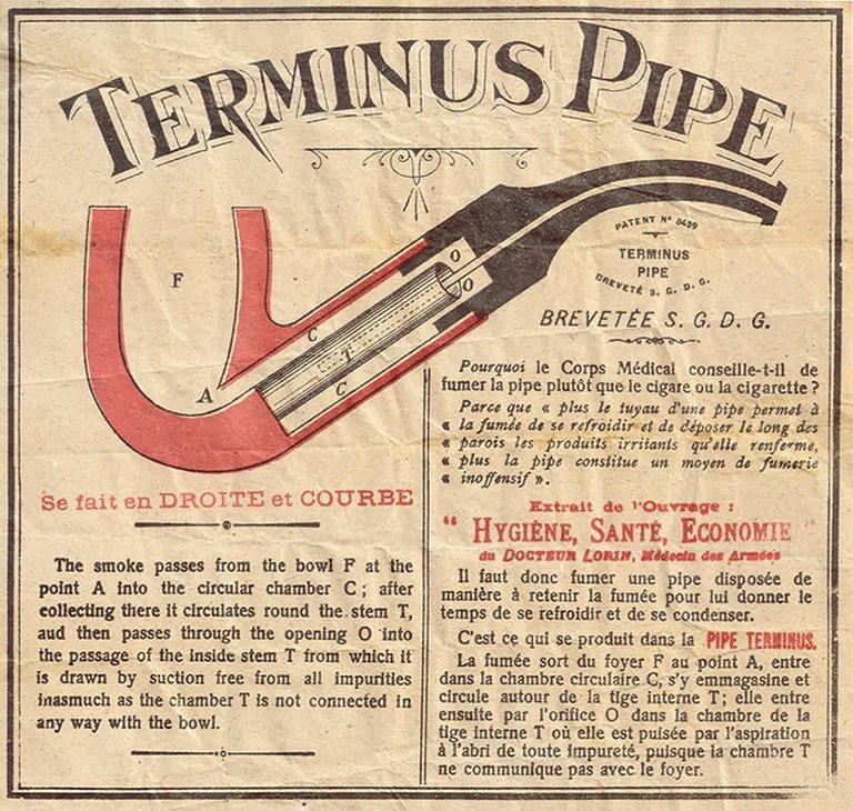 elle est arrivée ma nouvelle pipe au système terminus  La-ter11
