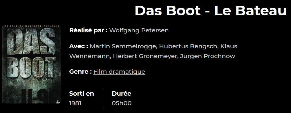 Le Bateau (Das Boot), Wolfgang Petersen, 1981. Captur12