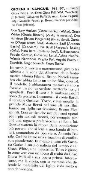 Giorni di sangue (inédit) - 1968 - Enzo Gicca  Przose10