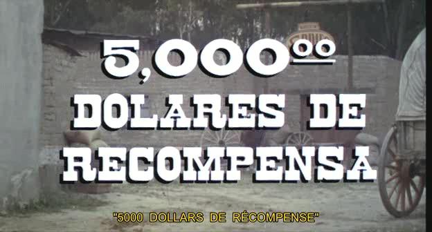 Cinco mil dolares de recompensa - 1974 - Jorge Fons Vlcsna10
