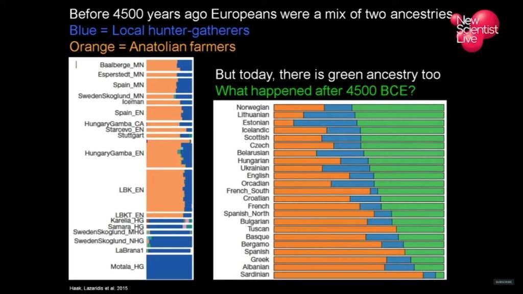 David Reich. ADN antiguo. Videos + imágenes Europe10