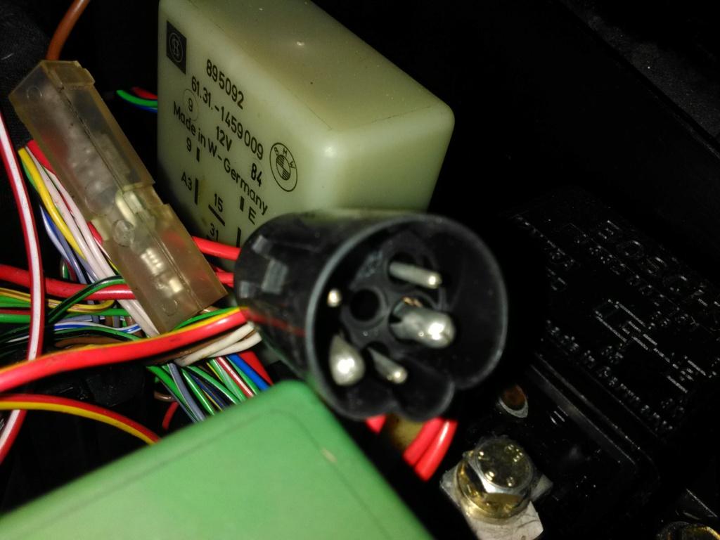 OE BMW K100 Auxiliary Light Kit Img_2038