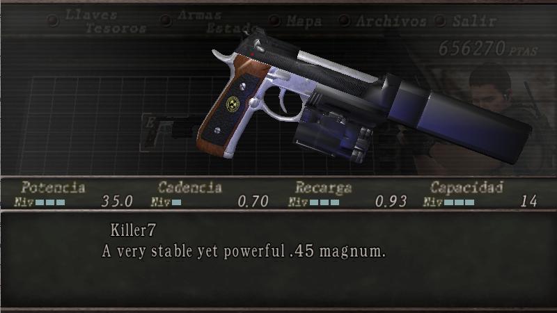Albert 01R de Resident Evil 7 por Killer7 Screen21