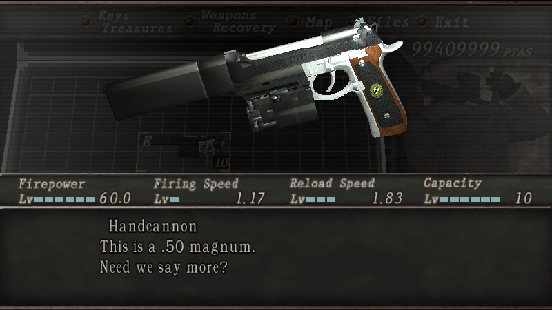 Albert 01R de Resident Evil 7 por Handcannon Screen23