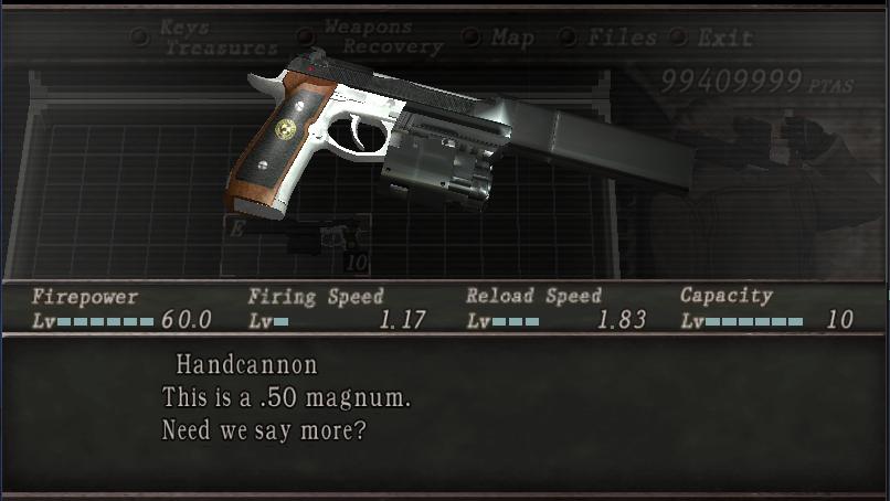 Albert 01R de Resident Evil 7 por Handcannon Screen24