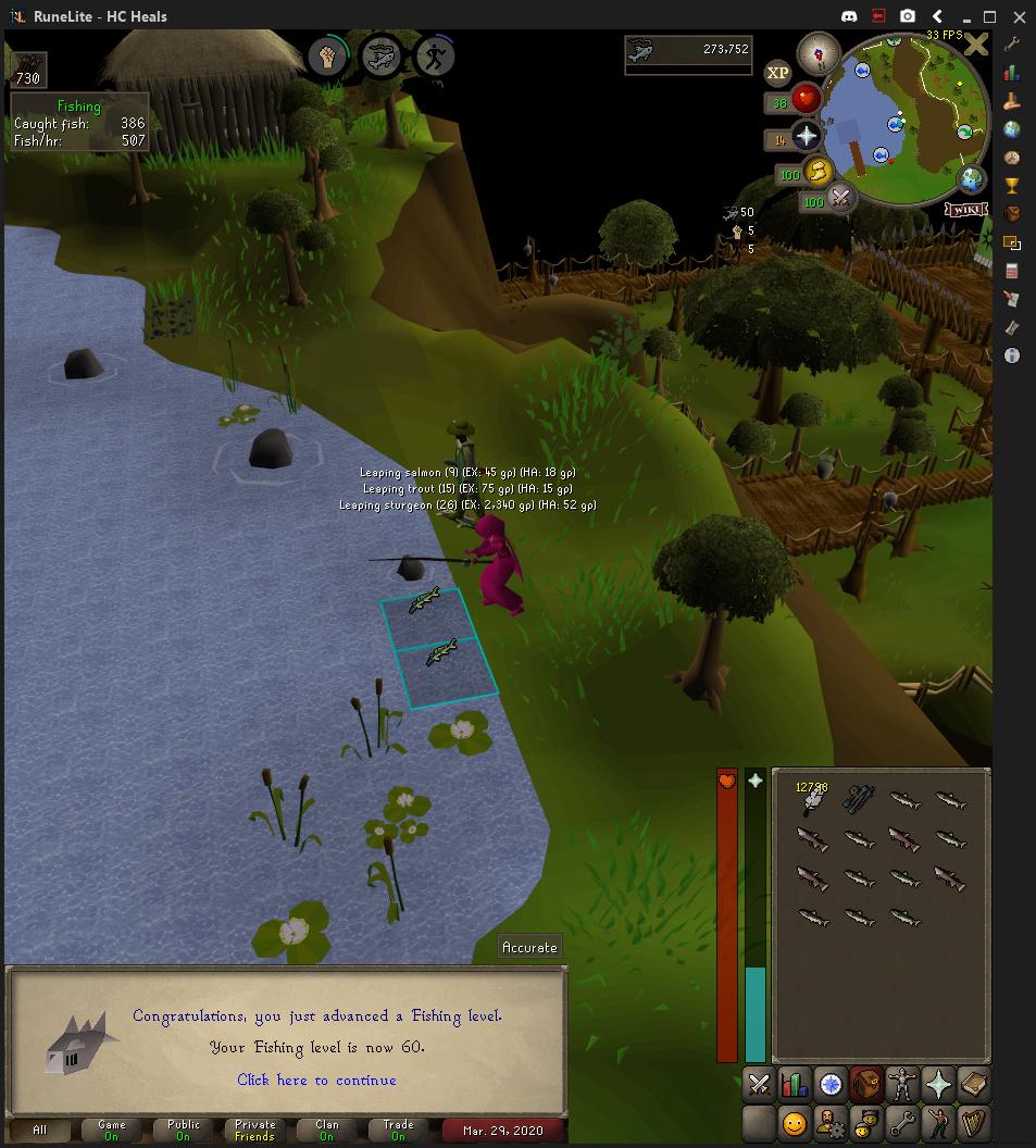 HC Heals Progress Thread Fishin10