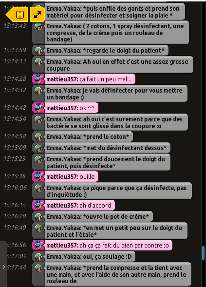[CHU] Rapports D'actions RP de Emma.Yakaa Matt_210