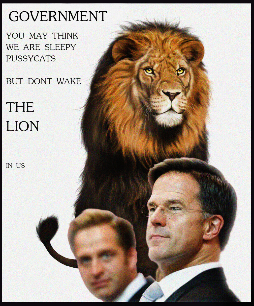 Don't wake the Lion in us!!!!