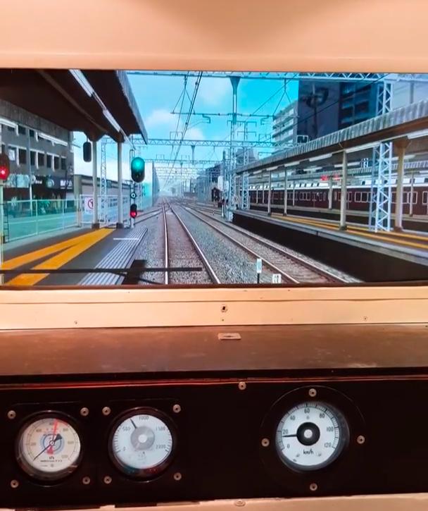 Side window view as default view? - For custom built simulator cab. 212