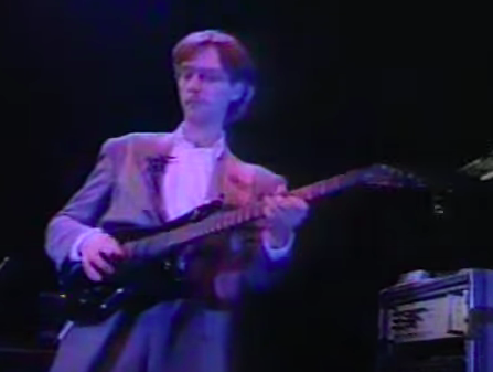 x390 - Is this a Westone Pantera X390? Level 42's Boon Gould in 1986... Panter19
