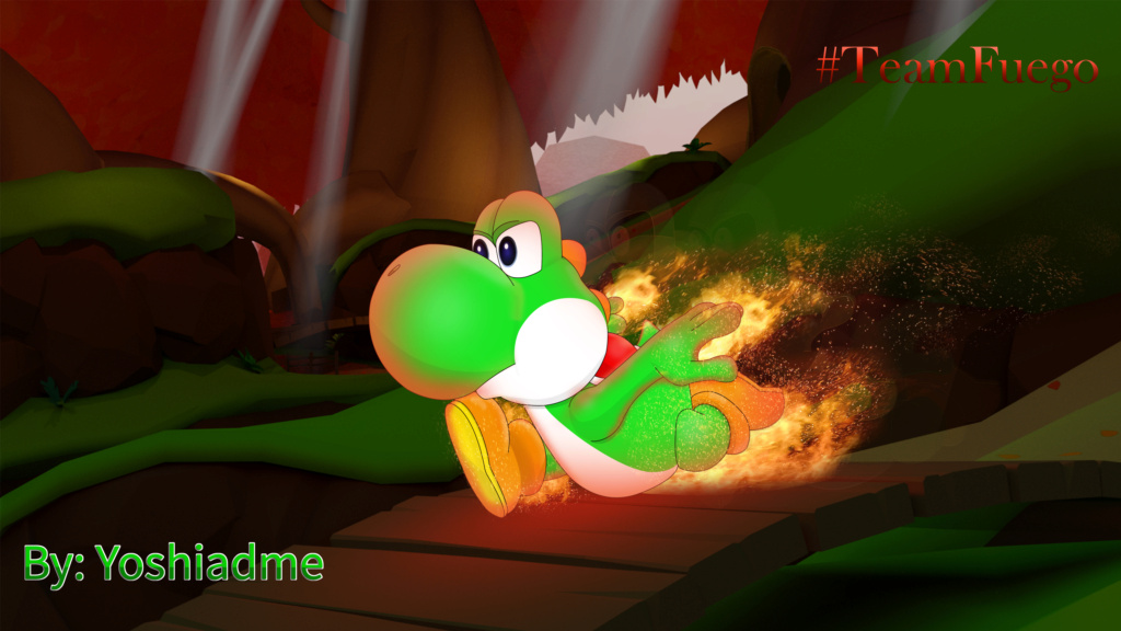 Yoshi fire, red chili!  [DDLS] Yoshi_11