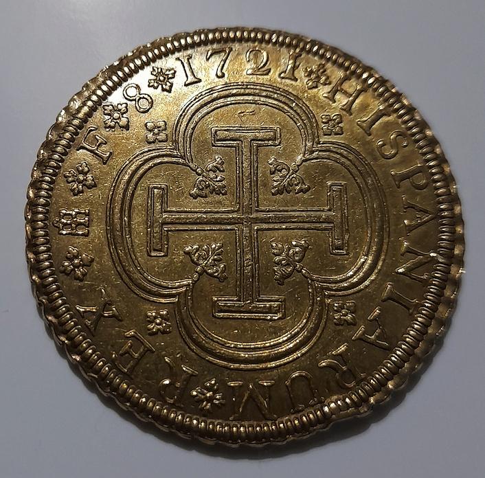 8 escudos - Felipe V - 1721/19 - Segovia Captur14