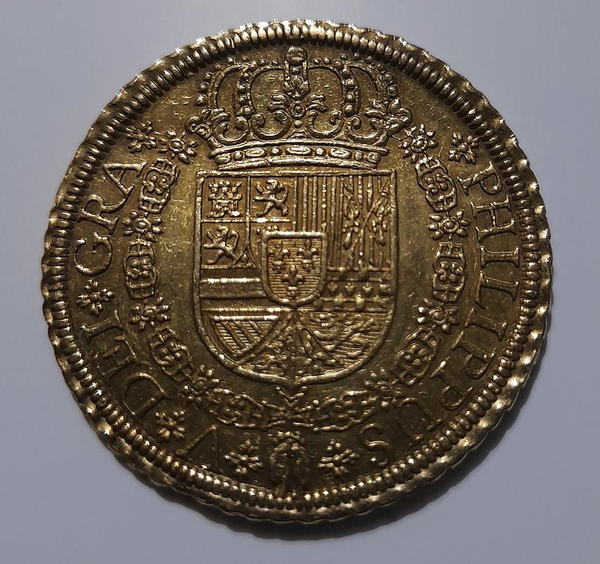 8 escudos - Felipe V - 1721/19 - Segovia Captur15