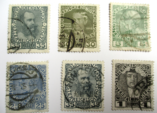 Wie bestimmt man das Alter von Briefmarken? 1810