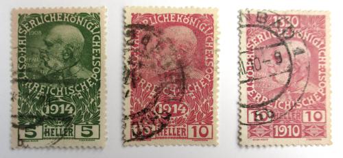 Wie bestimmt man das Alter von Briefmarken? 1910