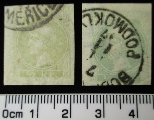 Zwei Merkur-Marken Merkur10