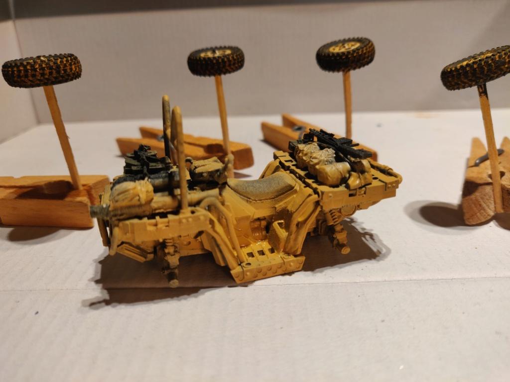 ATV (All Terrain Vehicule) forces spéciales [Yufan 1/35] - Page 2 Quad11