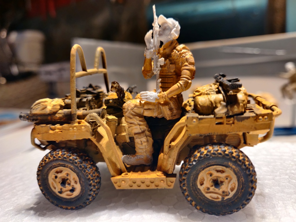 ATV (All Terrain Vehicule) forces spéciales [Yufan 1/35] - Page 3 Quad13