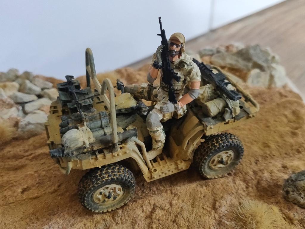 ATV (All Terrain Vehicule) forces spéciales [Yufan 1/35] - Page 3 Quad15