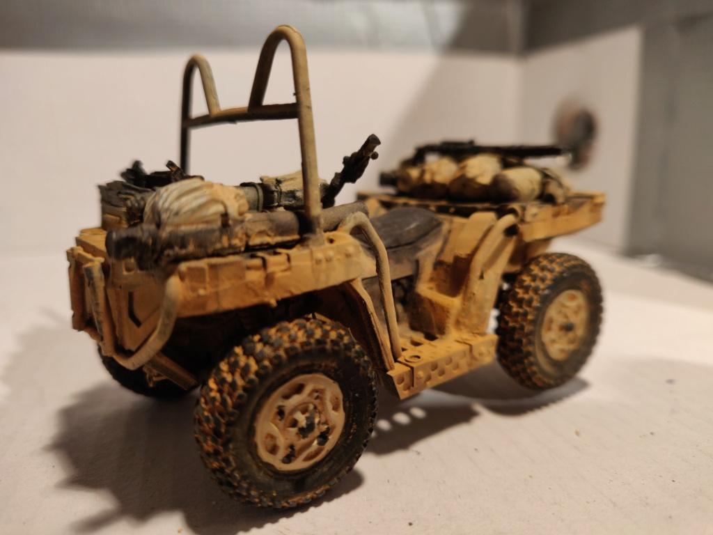 ATV (All Terrain Vehicule) forces spéciales [Yufan 1/35] - Page 3 Quad_111