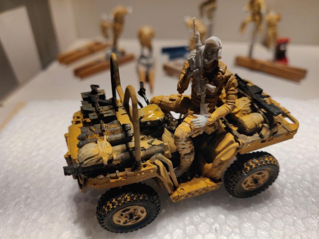 ATV (All Terrain Vehicule) forces spéciales [Yufan 1/35] - Page 3 Quad_112