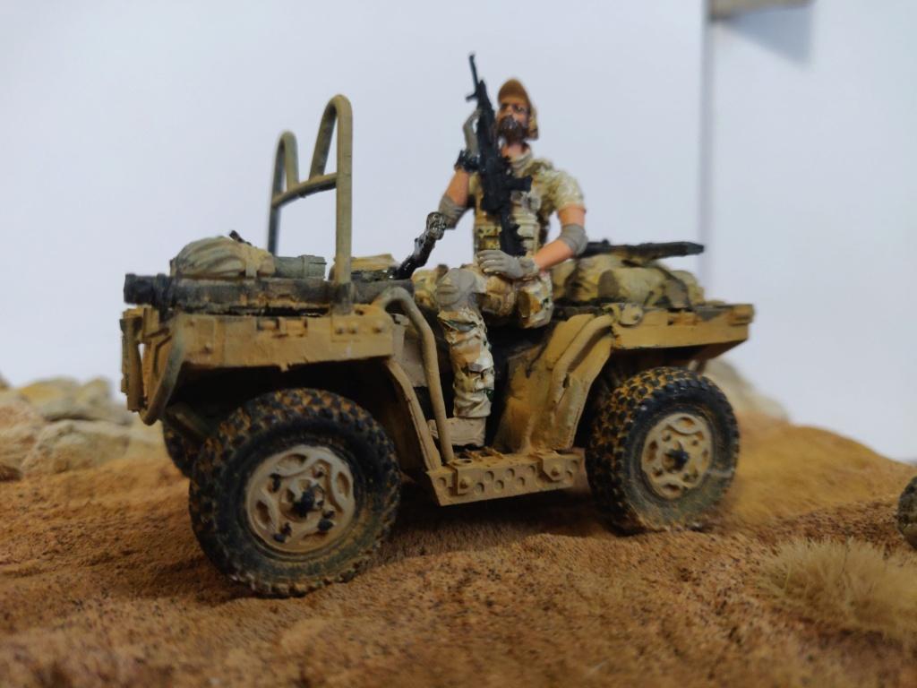 ATV (All Terrain Vehicule) forces spéciales [Yufan 1/35] - Page 3 Quad_311