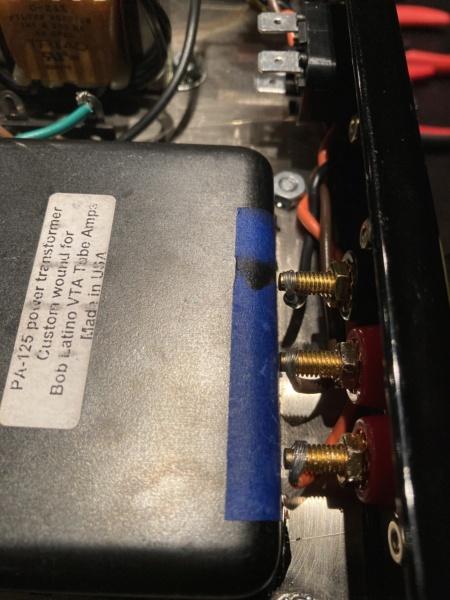 M-125 Build: Binding Posts VERY Close to Power Transformer Img-3515