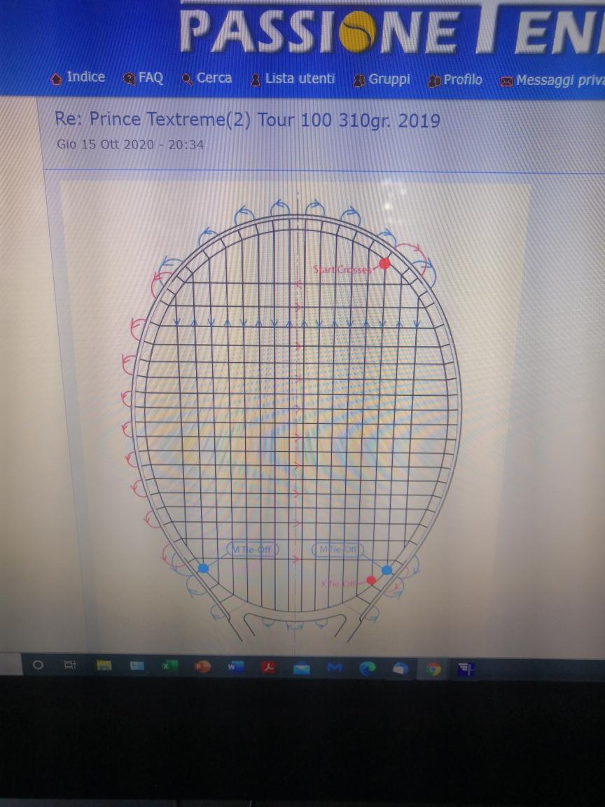 Racchetta Prince Textreme Tour 100 (310) noooo o3 Tour_310