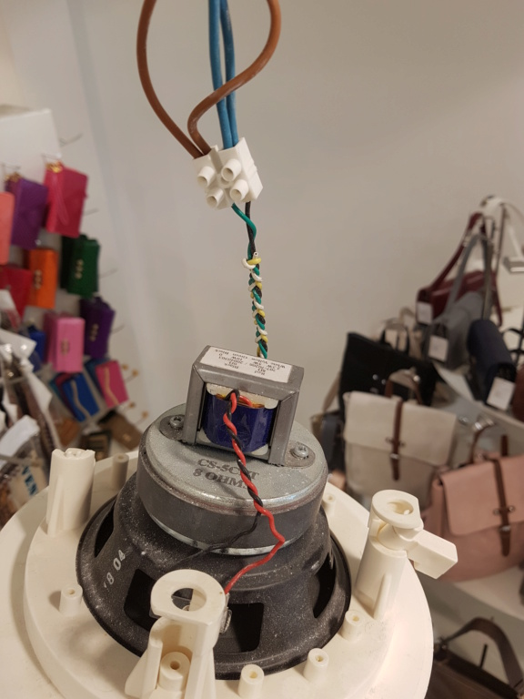 Impianto audio negozio 20210615
