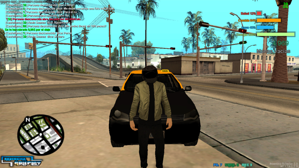 curriculom taxi Josue Silvestre Mta-sc11