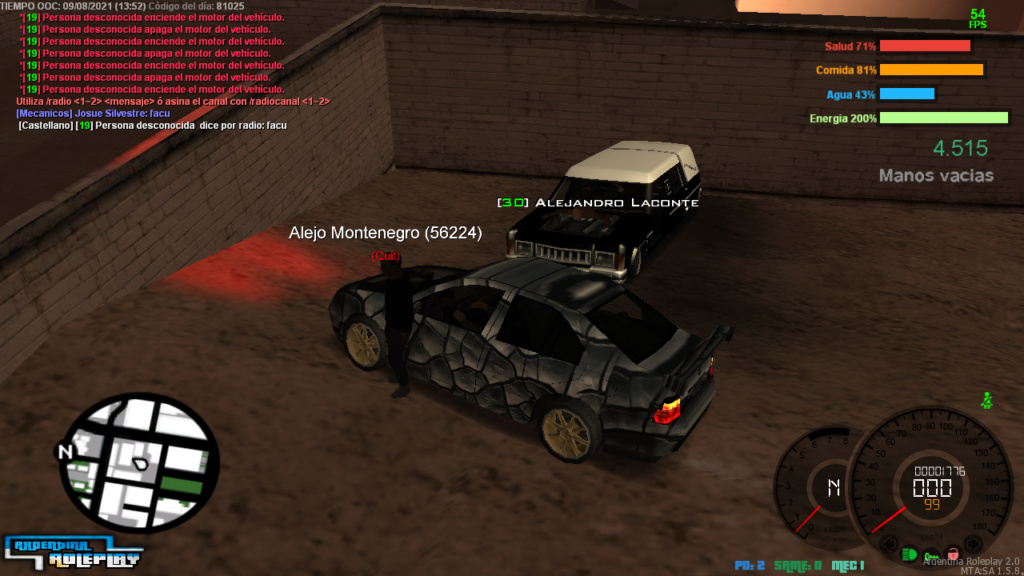 REPORTE  A Alejandro Laconte Y Alejo Montenegro  DM CAR Mta-sc14