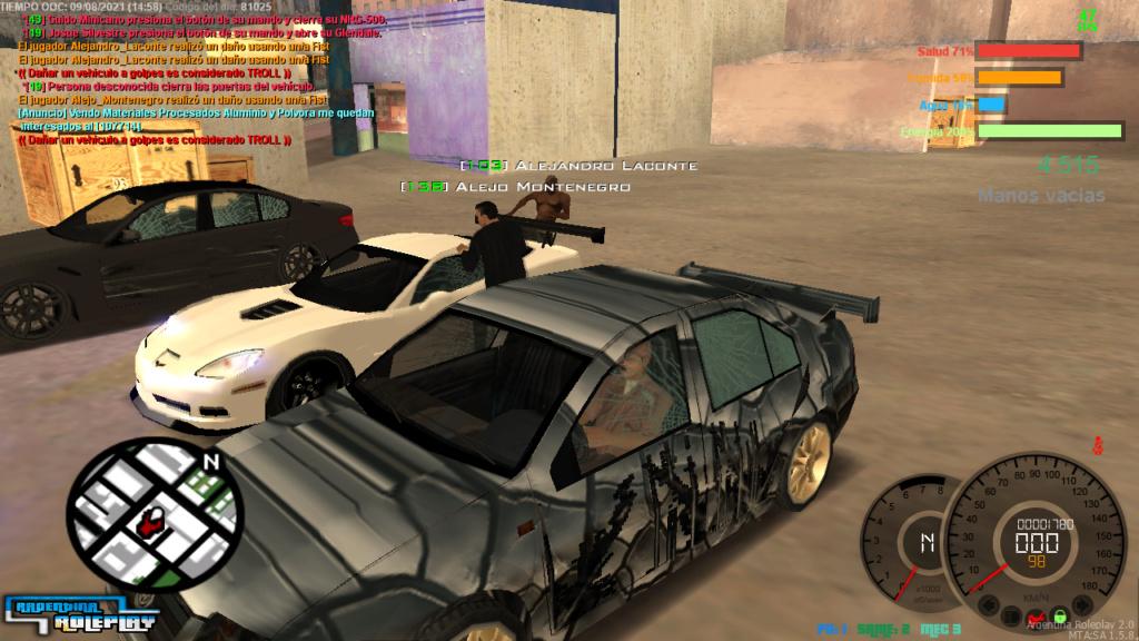 REPORTE  A Alejandro Laconte Y Alejo Montenegro  DM CAR Mta-sc18
