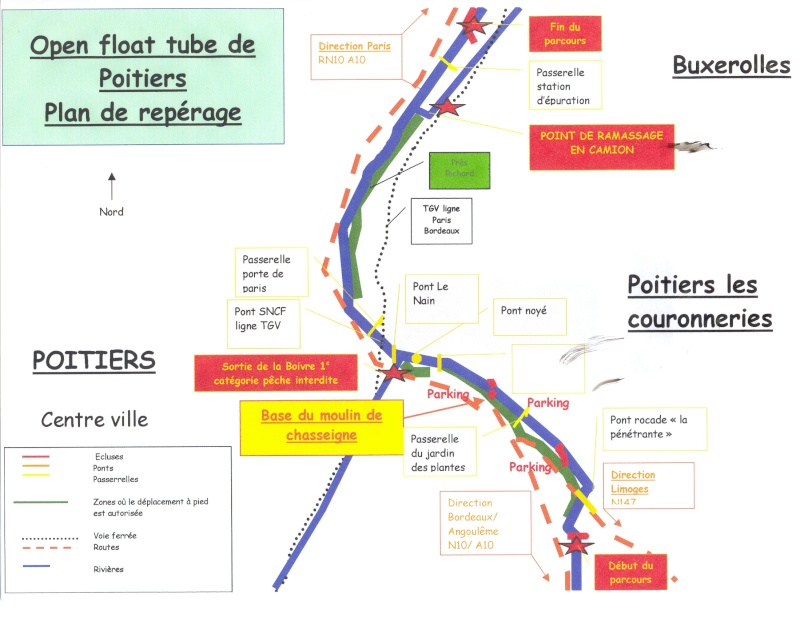 OPEN FLOAT TUBE DE POITIERS Plan10