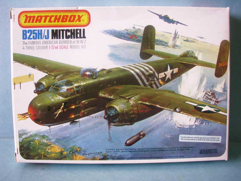 Comparatif NORTH AMERICAN B 25 MITCHELL 1/72ème Imag0217