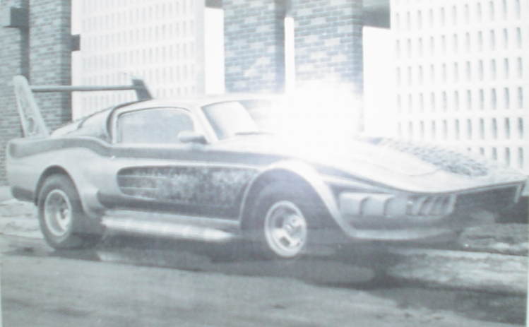 La Mustang 1967 modifié par Xavier Miron de Montréal Carte_11