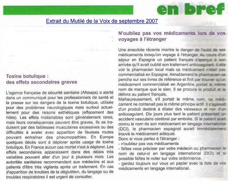 """Lu pour vous sur la revue """"Le Mutilé de la Voix"""" Extrai11"""