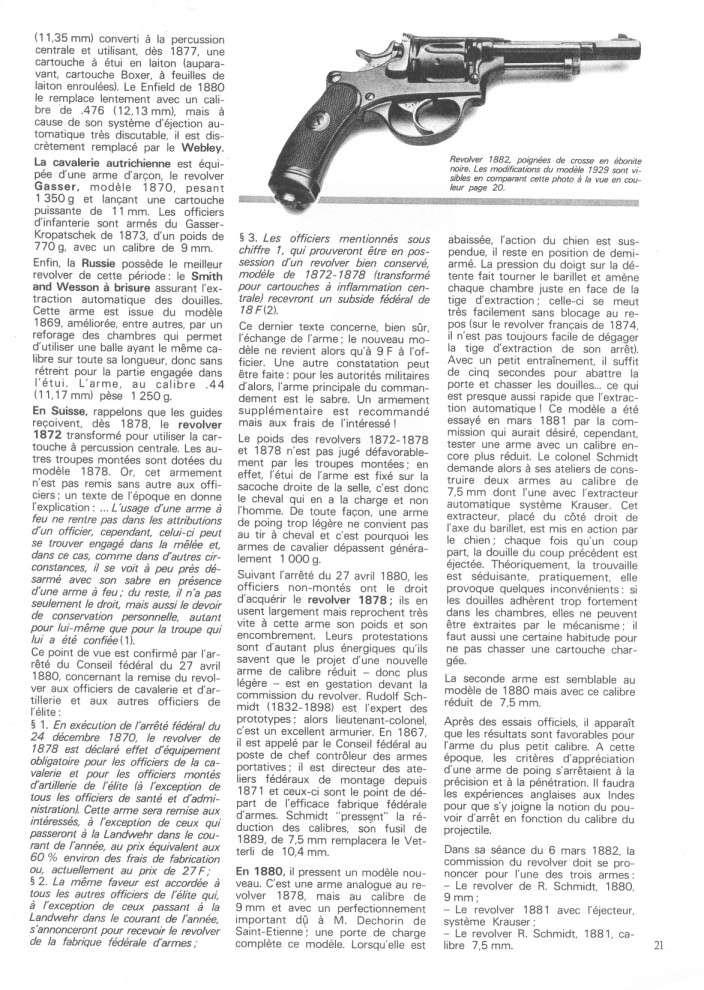 Le revolver suisse 1882-1929 1882-210