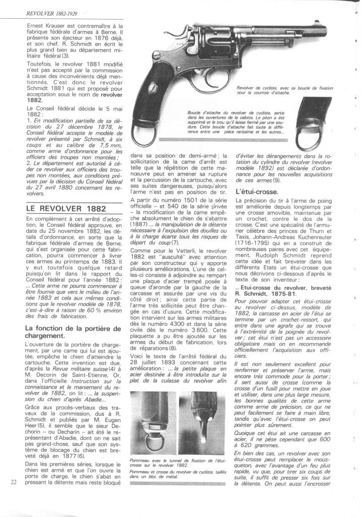 Le revolver suisse 1882-1929 1882-310