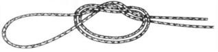 Le montage knotless knot ou montage noeud sans noeud 111