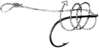 Le montage knotless knot ou montage noeud sans noeud 311