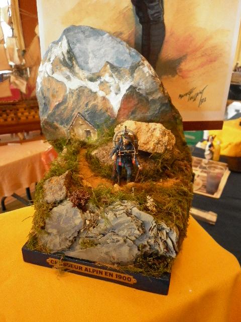 expo figurine du chasseur P1000424
