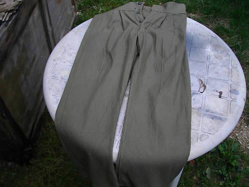 culotte de velours france 1915: du Ve-lourd !! Les210