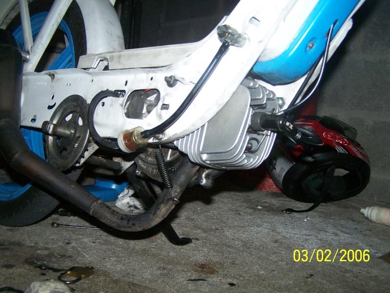 (Projet cadre) + moteur FULL MALOSSI , Réfection moteur 100_7019