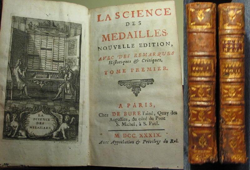 La science des médailles, nouvelle édition - 1739 00217