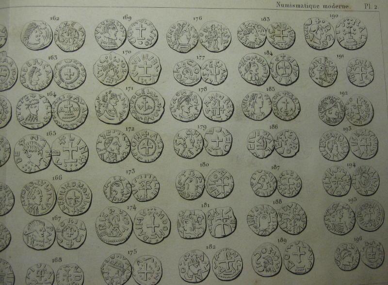 Numismatique moderne / ancienne -J.B.A.A. Barthelemy - 1842 et 1866 00711