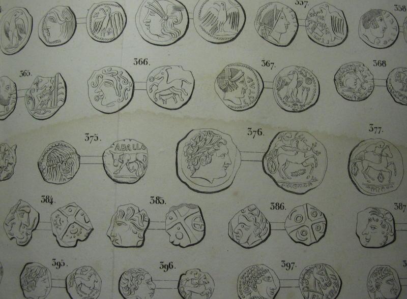 Numismatique moderne / ancienne -J.B.A.A. Barthelemy - 1842 et 1866 00812