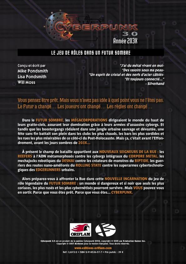 [JEU DE ROLE] Cyberpunk 203X la nouvelle édition française Cyberp11