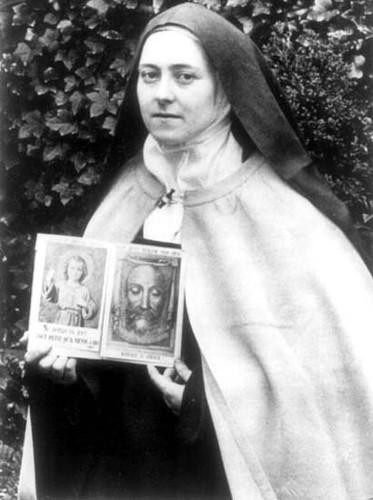 Joyeuse fête de Sainte-Thérèse de l'Enfant-Jésus!! Sainte13